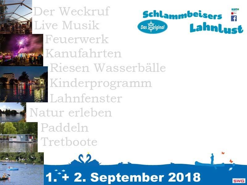 Schlammbeisers Lahnlust 2018