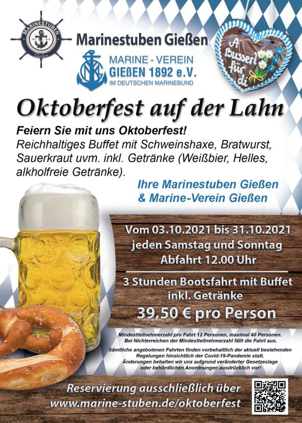 Flyer Oktoberfest 2021