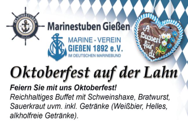 Read more about the article Oktoberfest-Fahrt auf der Lahn
